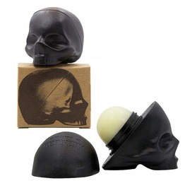 3 D Black Skull Lip Balm (Mint)