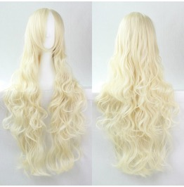 X X Flagrant Xx Long Blonde Scen Wig