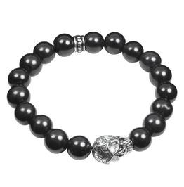 Skull And Stones( Black ) Bracelet