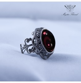 Gothic Victorian Adjustable Ring