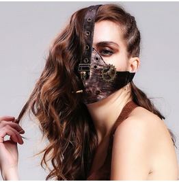 Bird Gear Dead Faux Leather Mask Mk011