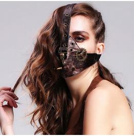 Bird Gear Dead Faux Leather Mask Mk011