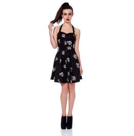 Jawbreaker Dotty Skulls And Roses Mini Prom Dress