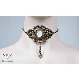 Mother Of Pearl Victorian Choker, Please Select Neck Perimeter(Cm)