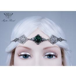 Emerald Gem Elven Circlet