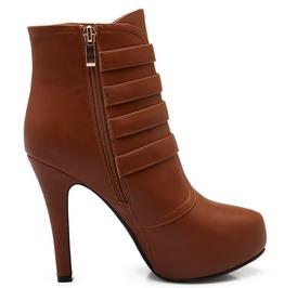 Thin High Heel Multi Straps Boots