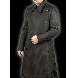 Japanese Officer Long Black Military Coat $9 To Ship Worldwide