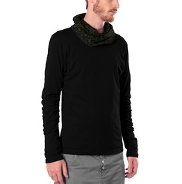 Light Weight Hoodie With Printed Cowl Neck Street Clothing For Men Free Shi
