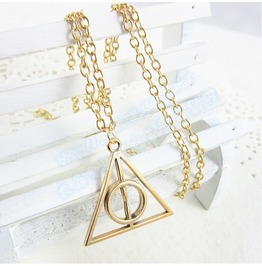 Deathly Hallows Metal Necklace