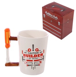 Egg N Chips London Screwdriver Builders At Work Coffee Mug