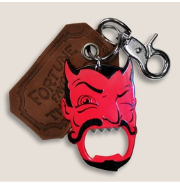 Red Devil I The Gentleman's Bottle Opener & Key Ring
