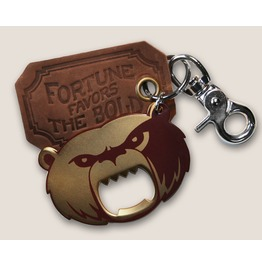 Grizzly Bear I The Gentleman's Bottle Opener & Key Ring