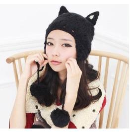 Gorro Gato/Cat Beanie Wh094