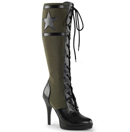 Bettie Battalion Boots Green