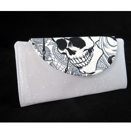 Goth Skull And Raven Fiona Wallet