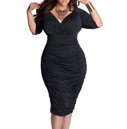 X X Kyla Xx Fitted Dress Sizes L/X/2 Xl3 Xl