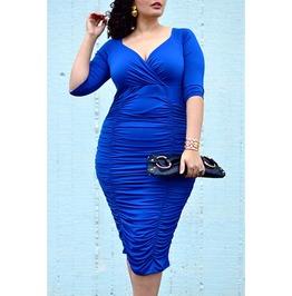 X X Seliah Xx Fitted Dress Size 2 Xl