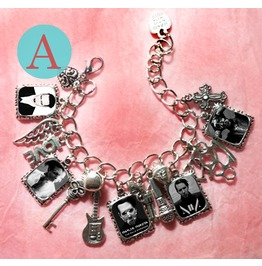 Marilyn Manson Charm Bracelet
