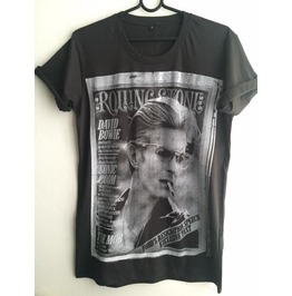 David Bowie Glam Rock 70's Pop T Shirt S ,M