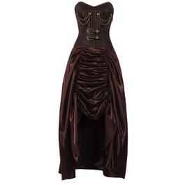 Steampunk Corset Dress (Steel Boned)