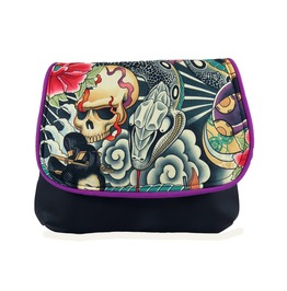 Skull And Snake Zen Charmer Kelsi Ii Cross Body Purse Mini Messenger