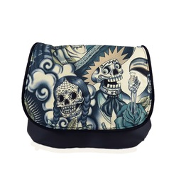 Sugar Skull Blue Tattoo Kelsi Ii Contigo Cross Body Purse Mini Messenger
