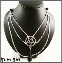 Pentagram Necklace Lucifer