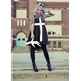 Gloomth Mourning Glory Dress With Cross Sizes Xs Xxl