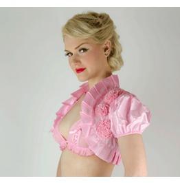 Rosette Bolero Pink Lk03035