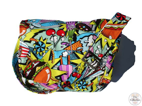 pinup retro messenger bag