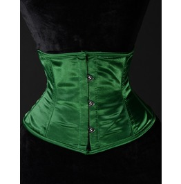 Steel Boned Green Waist Cincher $9 Worldwide Shipping