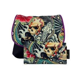 Skull And Snake Zen Charmer Kelsi Ii Cross Body Purse With Wallet