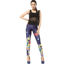 Arrival Fashion Tetris Leggings Pants