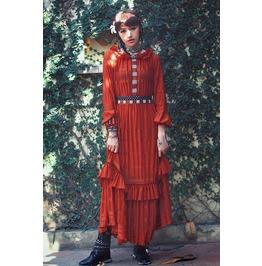 2016 Designer Vintage Gypsy Bohemian Style Women Dress