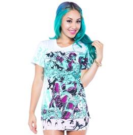 Iron Fist Clothing Womens Babylon White T Shirt
