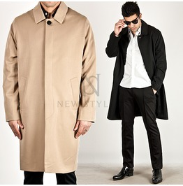 Raglan Straight Fit Single Trench Coat 98