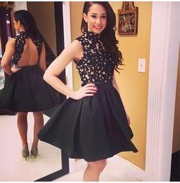 2016 super sexy black hollow out women dresses dresses 6
