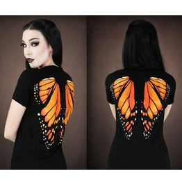 2016 Fashion 3 D Butterfly Print Women Summer Tops T Shirts