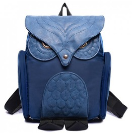 X X Insomniac Xx Blue Owl Back Satchel Bag
