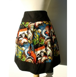 """Riding Shotgun"" Hollywood Monster Skirt"