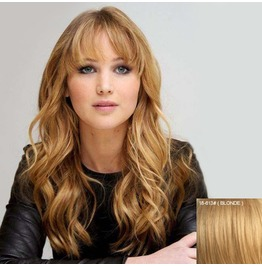 100% Human Hair Wig Capless Lace Full Wig Color 18/613#