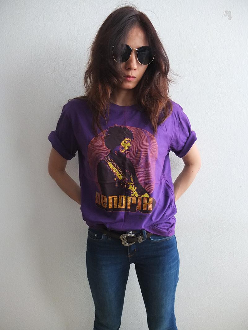 Jimi Hendrix Fashion Classic Rock T Shirt L 106096