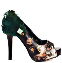 Iron Fist Shoes Womens Vanity Fair Peeptoe Platform