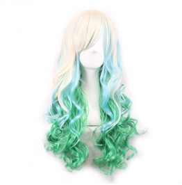 Plur Maid Three Color Long Scene Wig