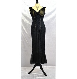 Deadly Gothic Vampire Lillith Dress. Gown. Goth. Steampunk. Saloon.