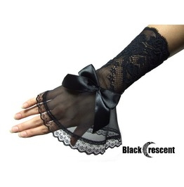 Delicate Gothic Gloves, Burlesque, Wedding, Prom Party