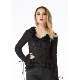 Jawbreaker Clothing Cross My Heart Gothic Jacket