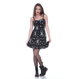 Jawbreaker Clothing Skeleton Spider Skater Dress