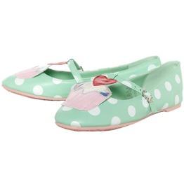 Iron Fist Shoes Mint Green Cupcake Princess Flats