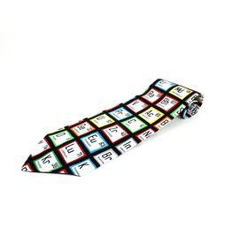 Periodic Table Of Elements Necktie, Mens Tie